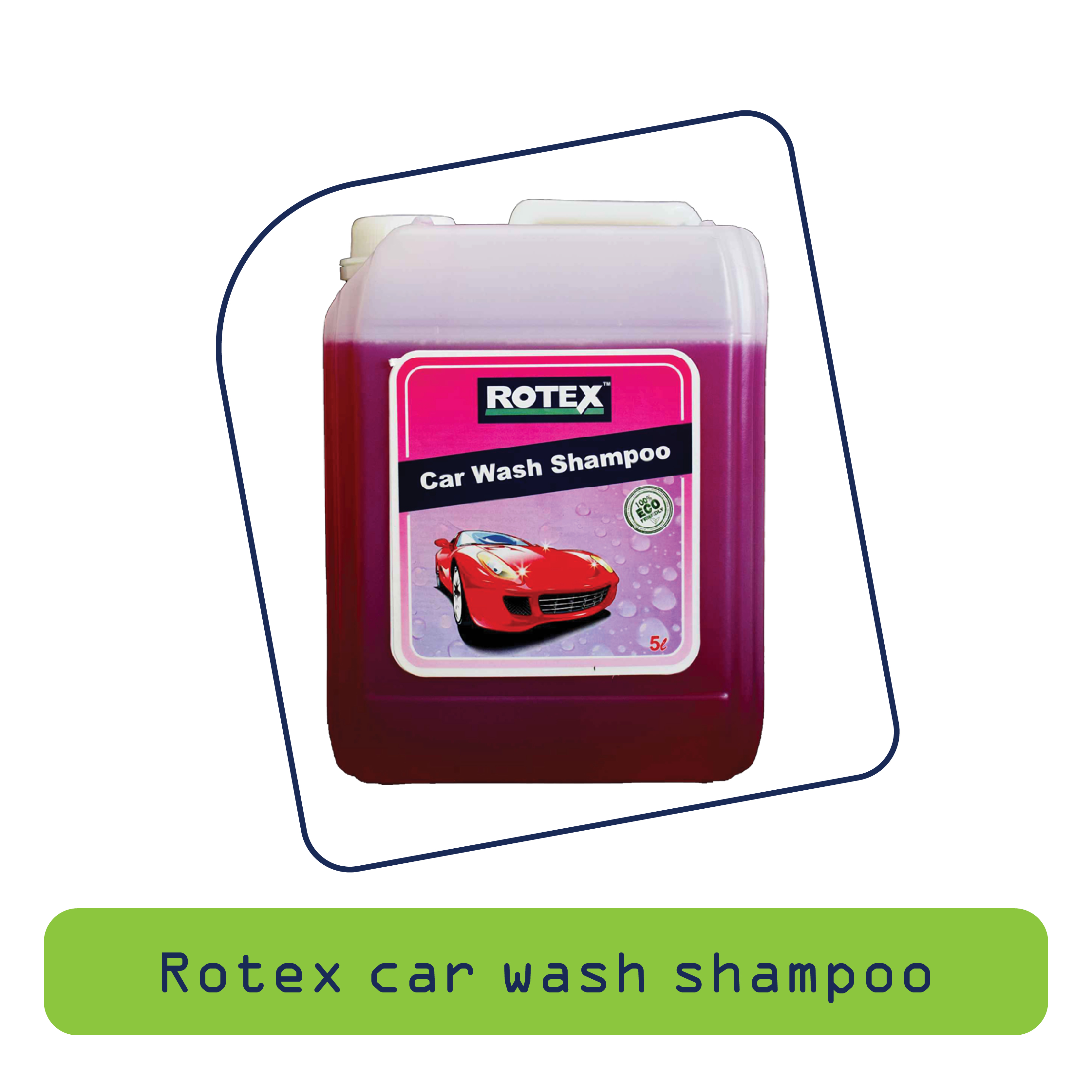 Rotex Car Wash Shampoo