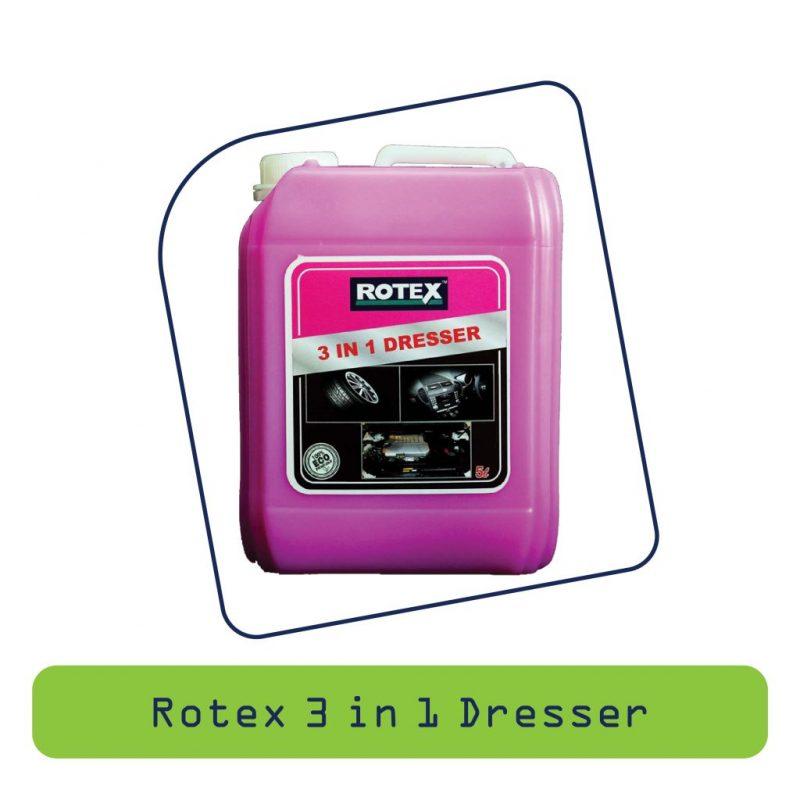 Rotex 3 In 1 Dresser