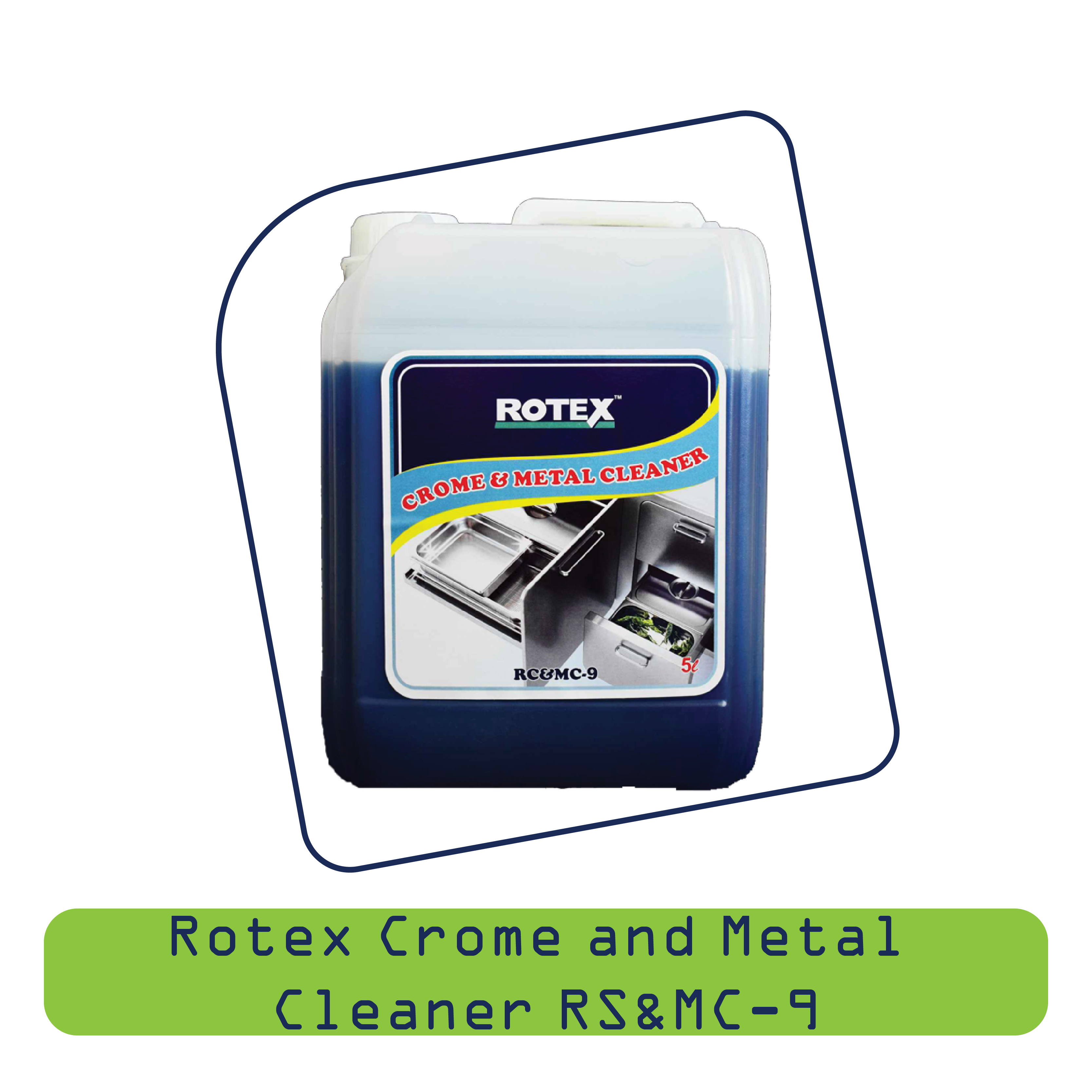 Rotex Crome & Metal Cleaner