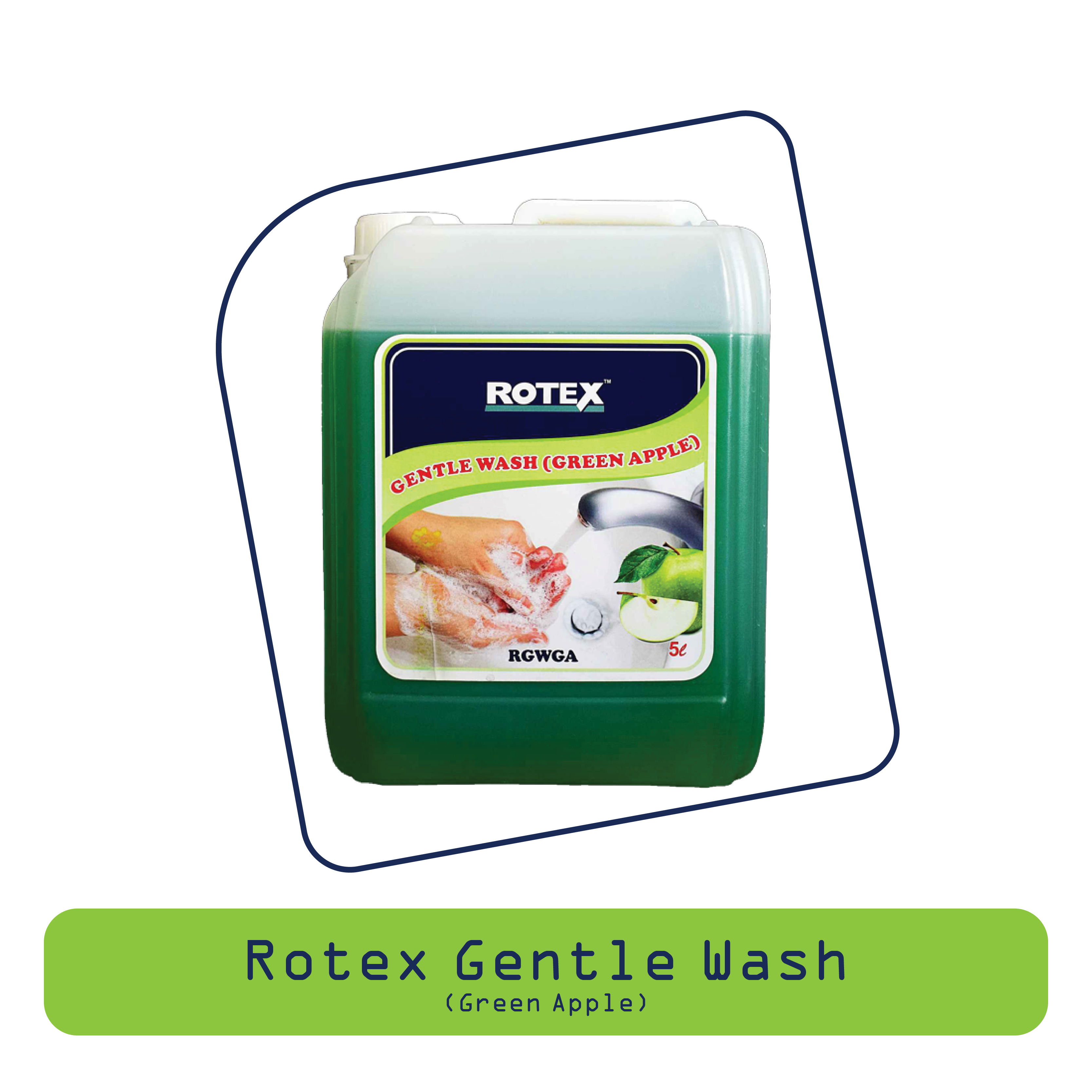 Rotex Gentle Wash ( Green Apple)