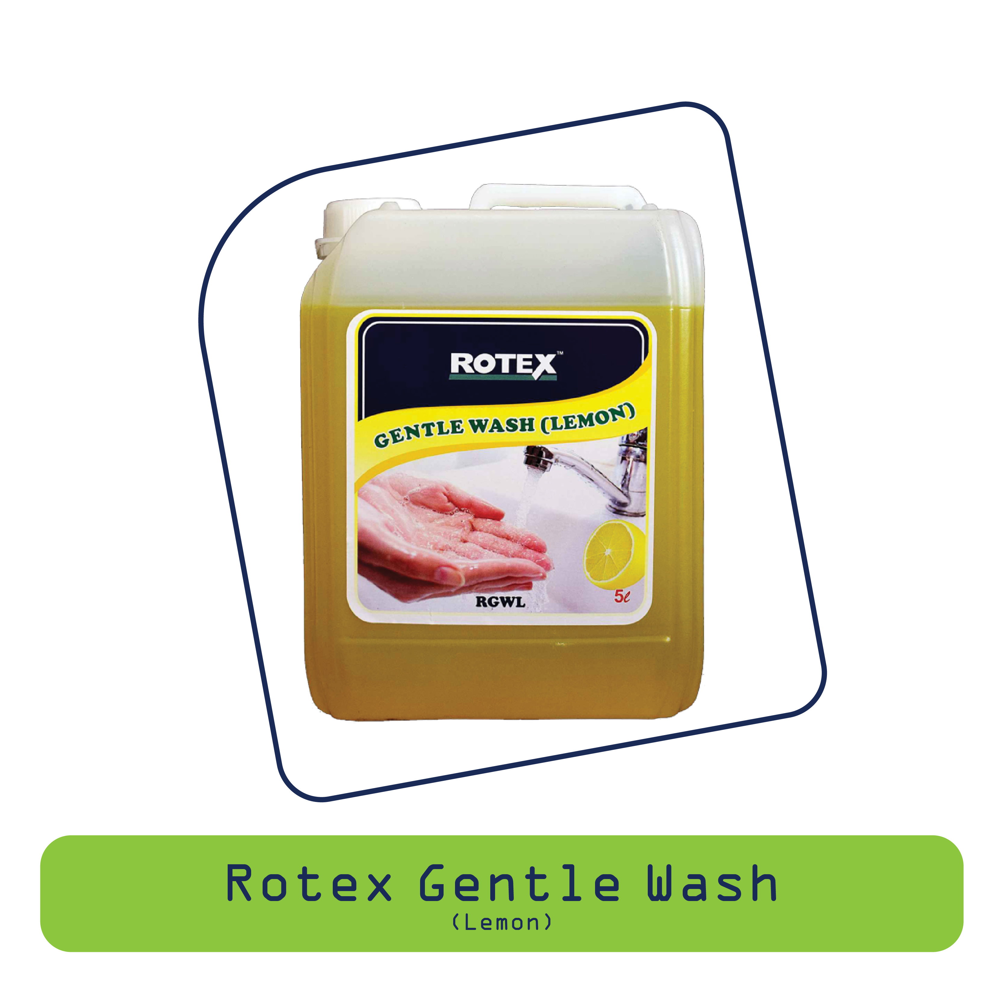 Rotex Gentle Wash (Lemon)