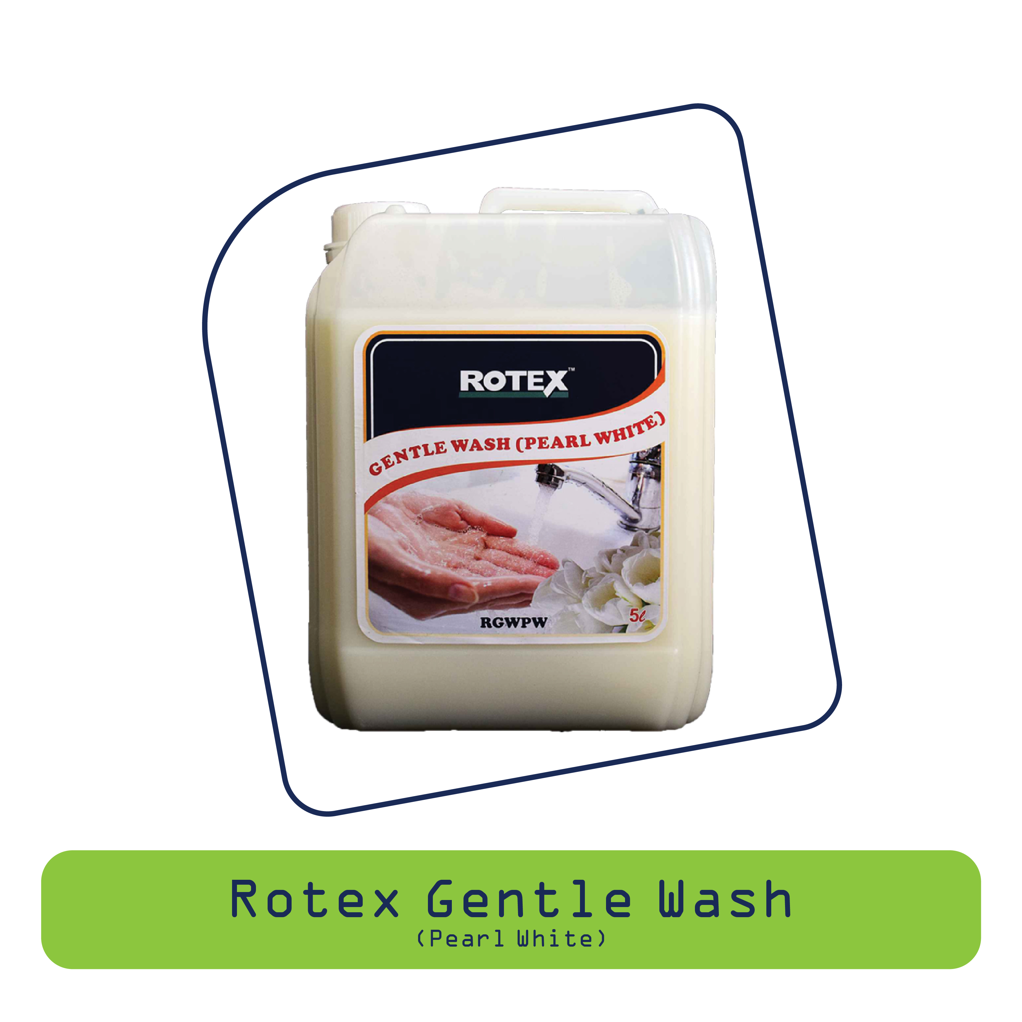 Rotex Gentle Wash (Pearl White)