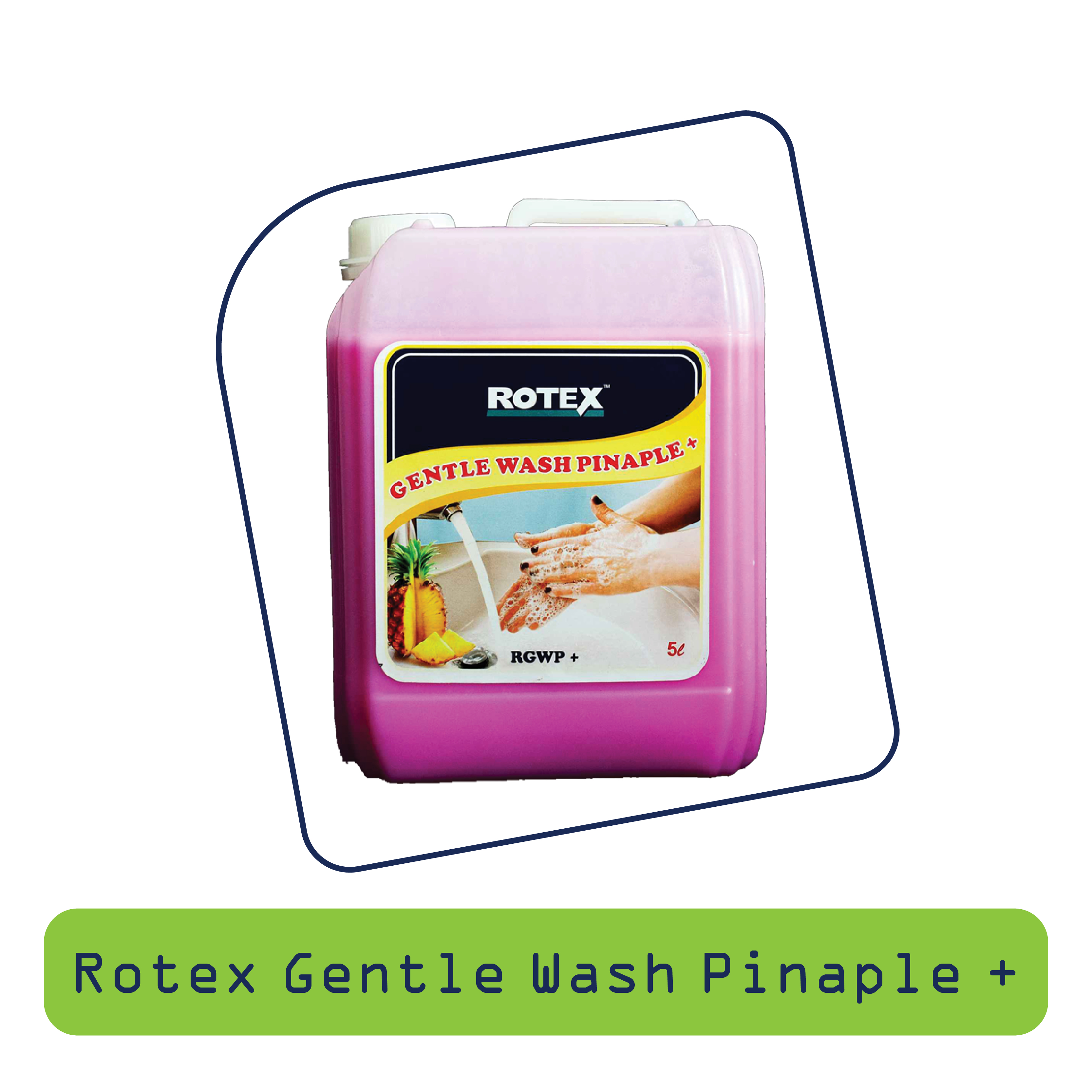 Rotex Gentle Wash(Pineapple +)