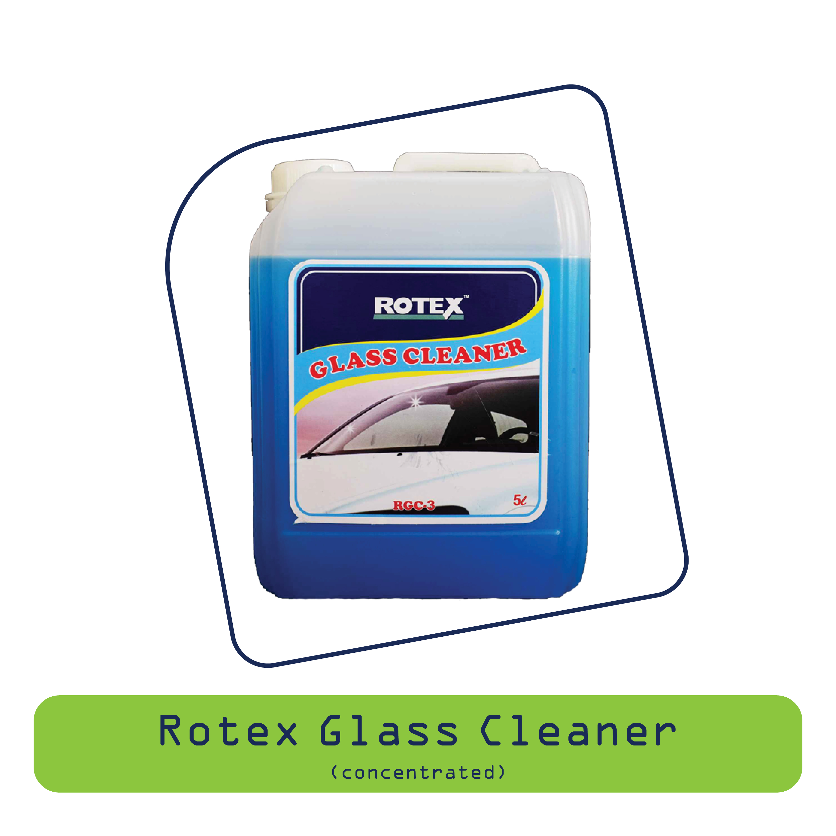 Rotex Glass Cleaner (Concerntratred)