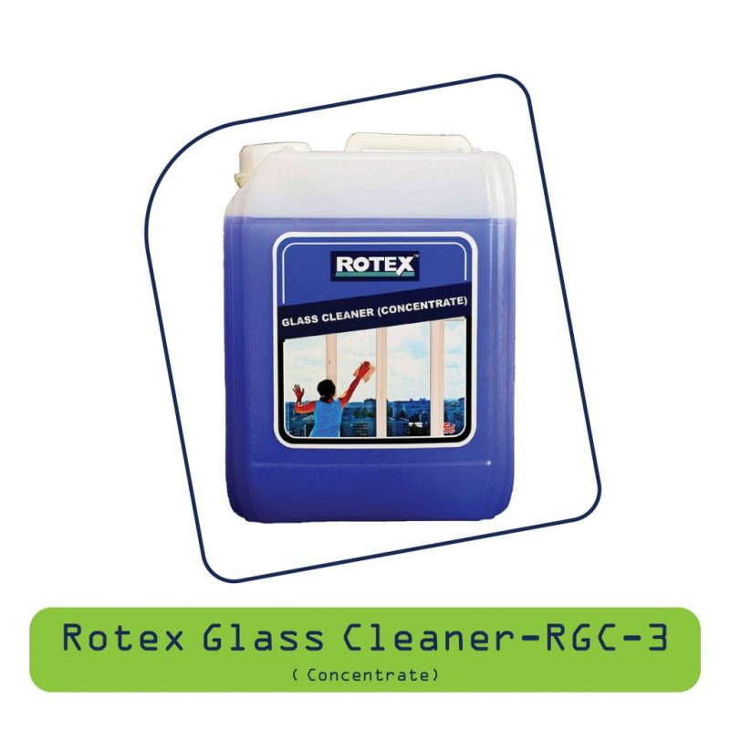Rotex Glass Cleaner - RGC-3 (Concerntrate)