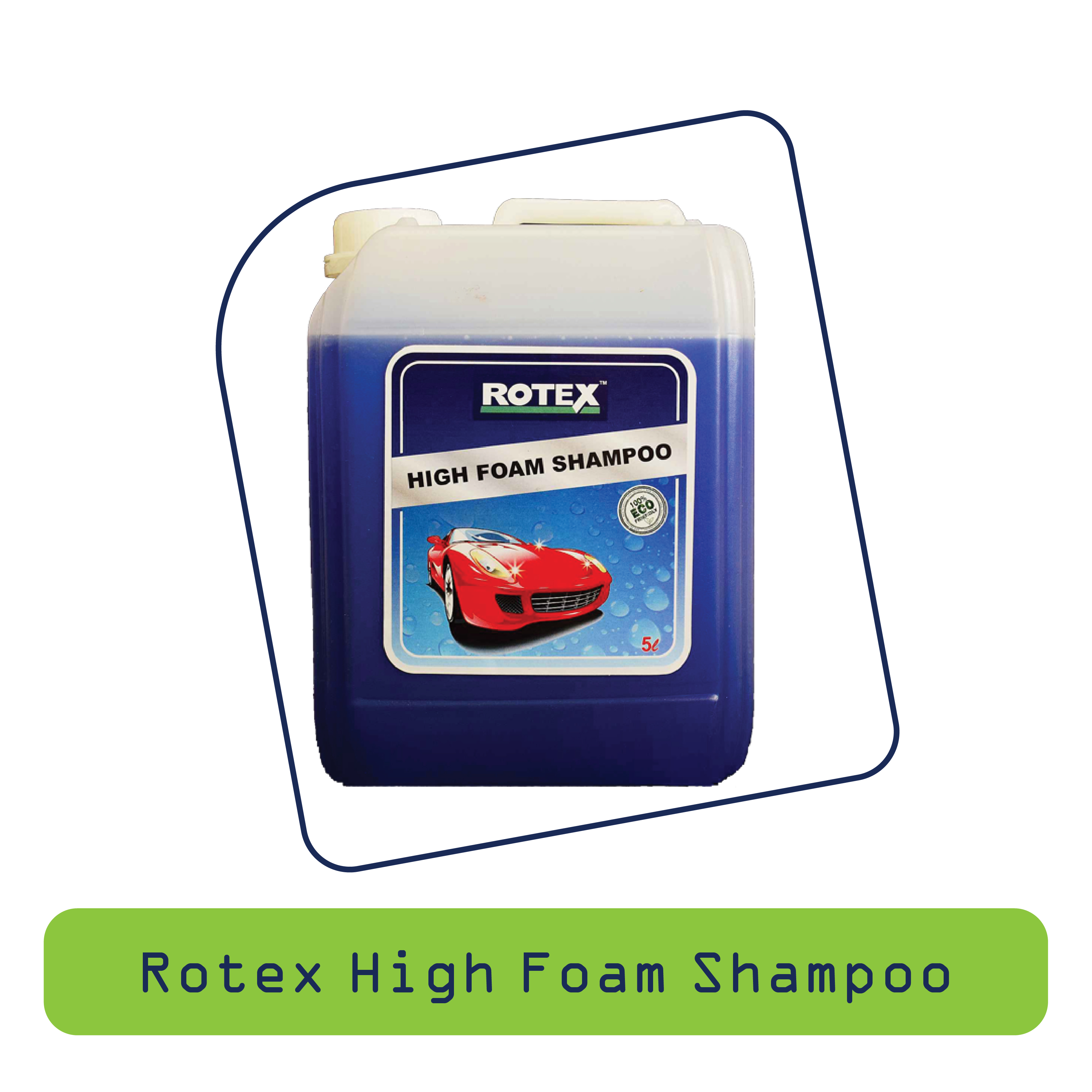 Rotex High Foam Shaampoo