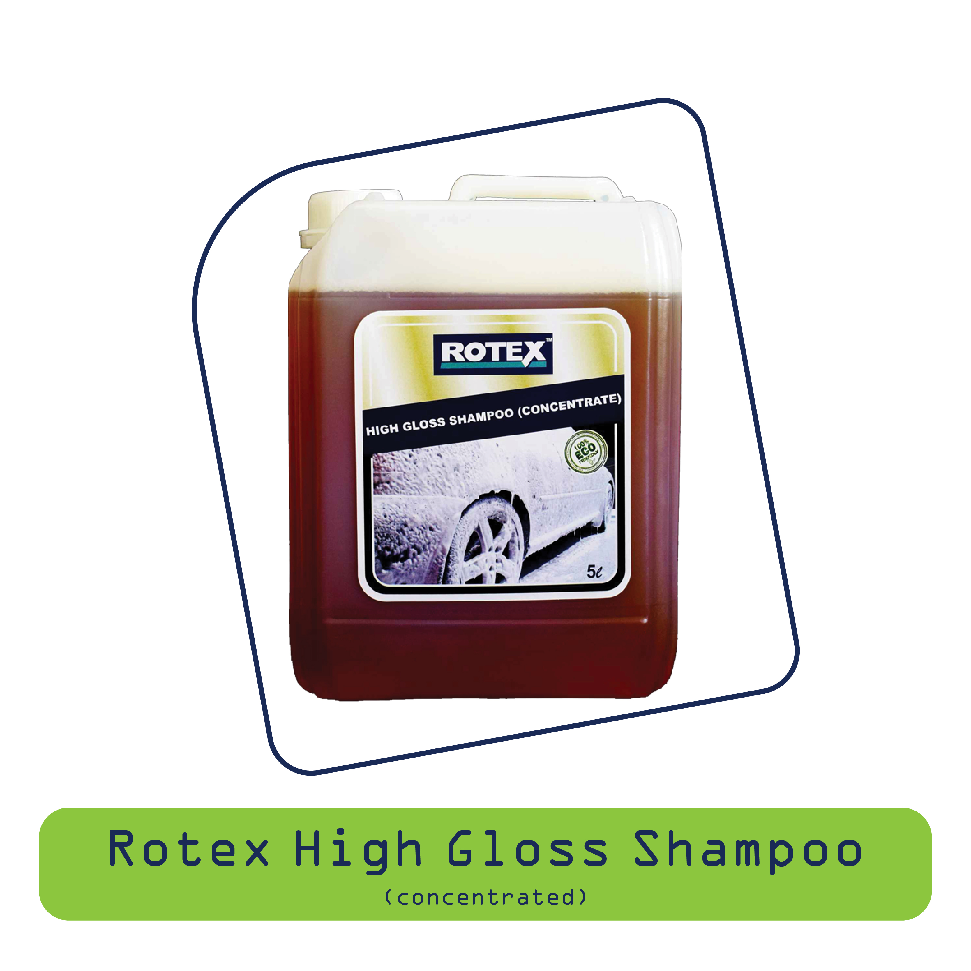 Rotex High Gloss Shampoo (Concerntrated)