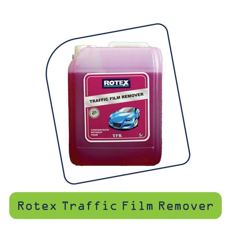 Rotex Traffic Flim Remover