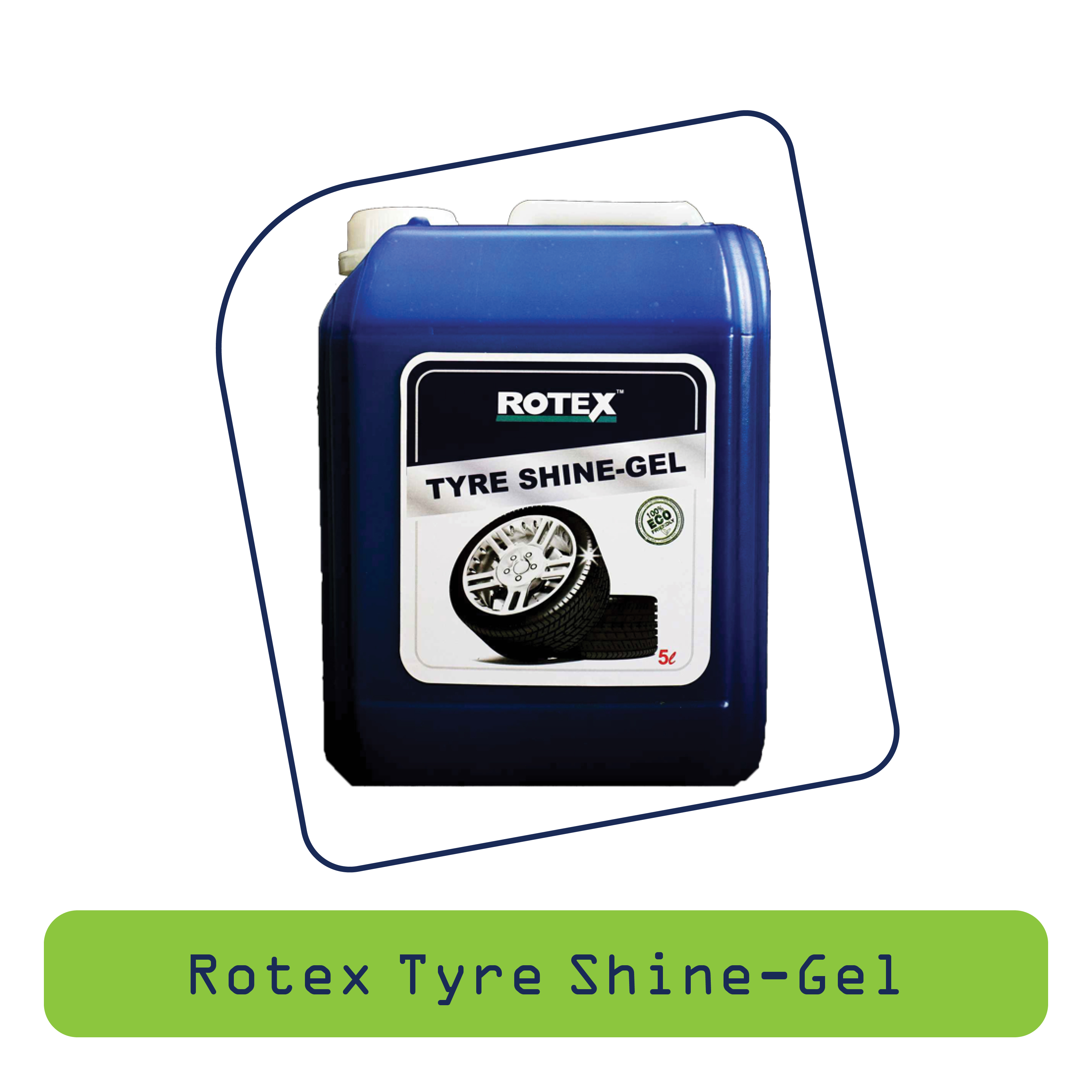 Rotex Tyre Shine Gel