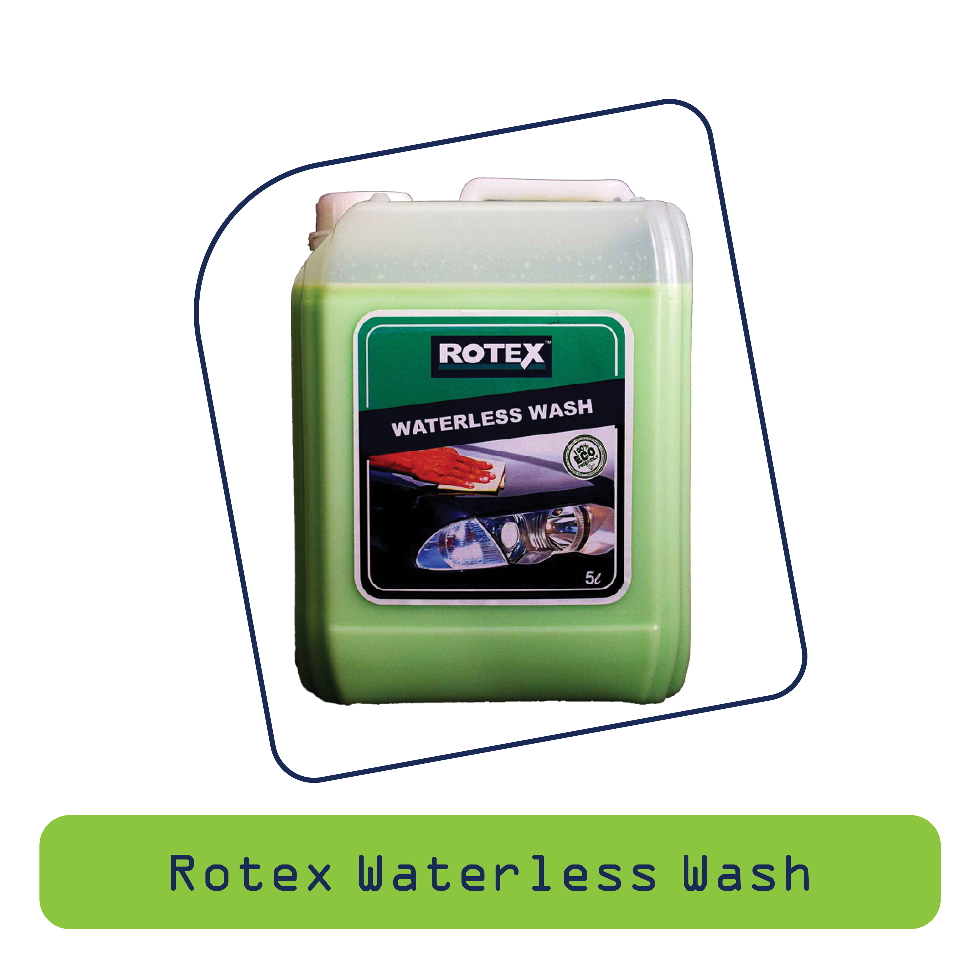 Rotex Waterless Wash
