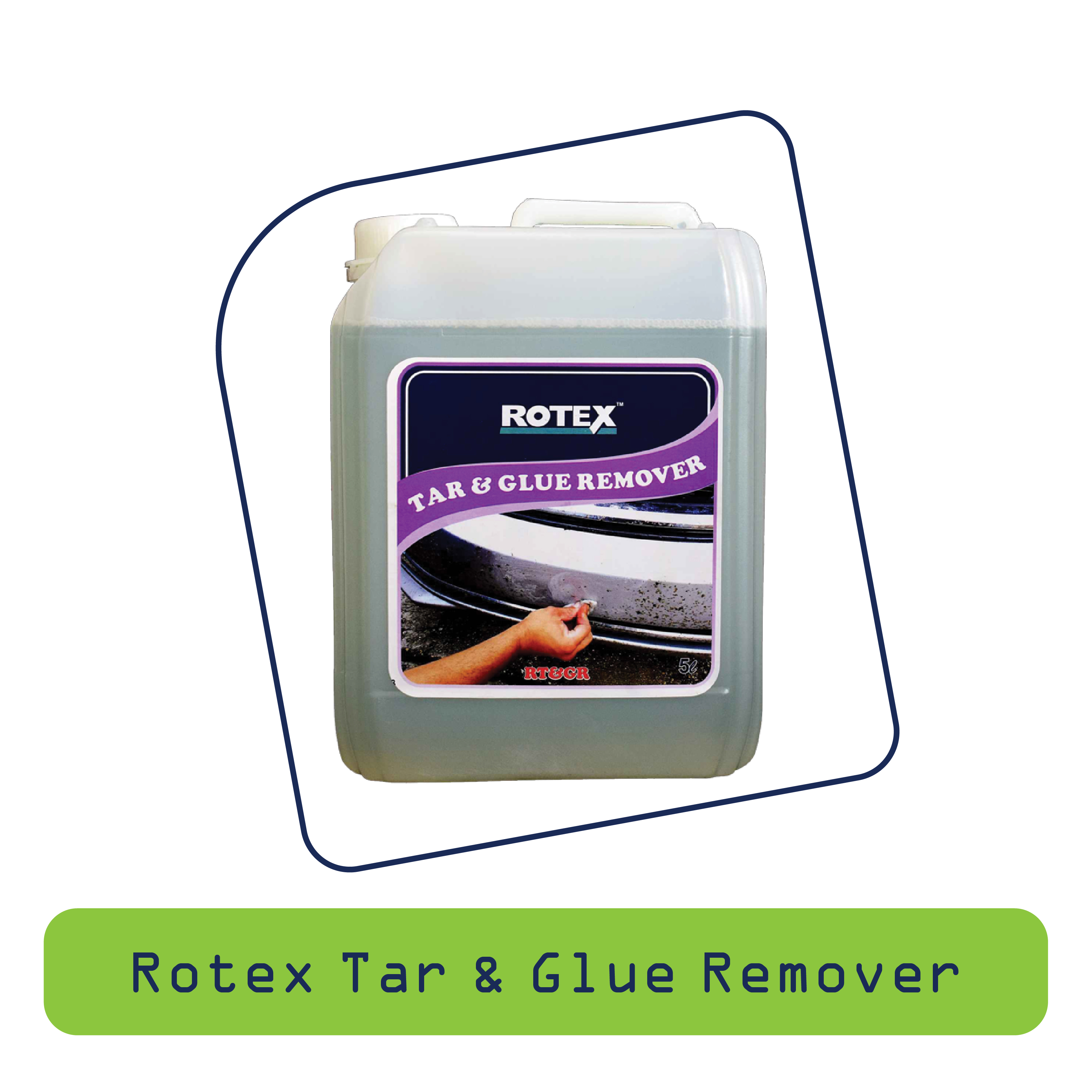 Rotex tar Glue Remover